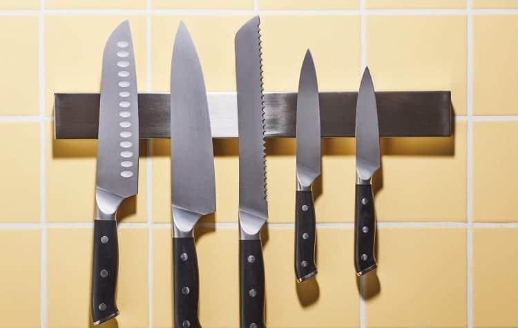 Different Kitchen Knife Blades