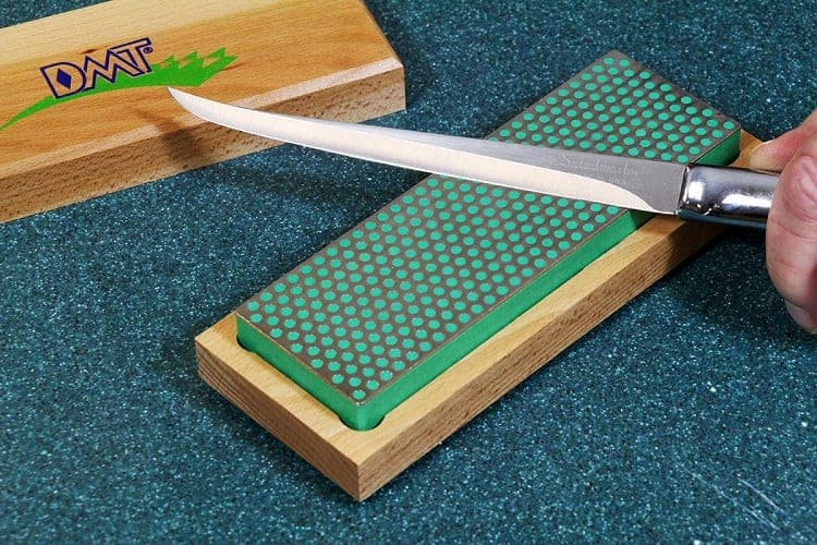 Sharpening Knife With Diamond Whetstone