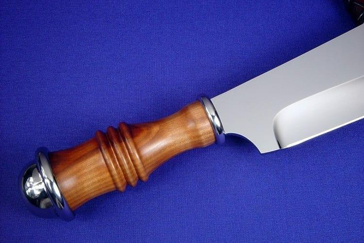 Wooden Handle Kitchen Knife