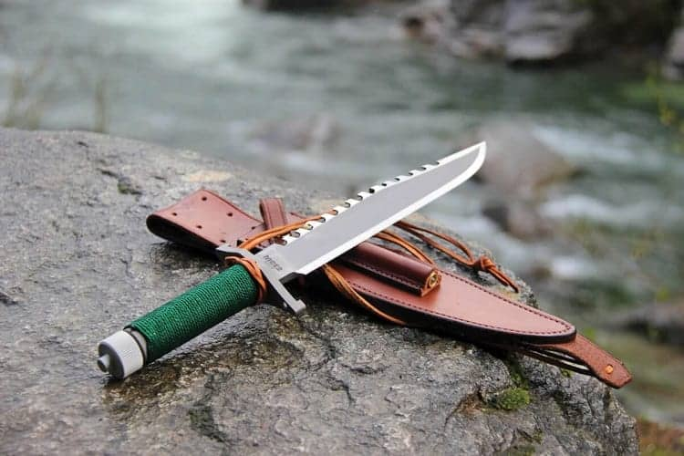Hollow Handle Knife