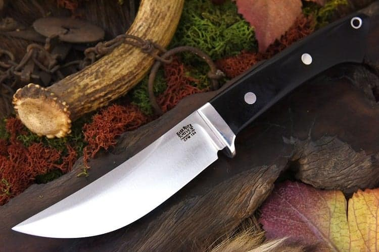 Knife with Trailing Point Blade