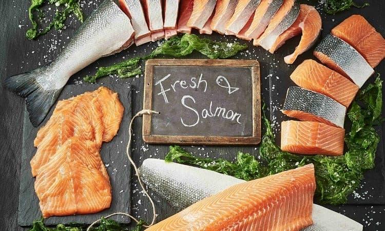how to recognize fresh salmon