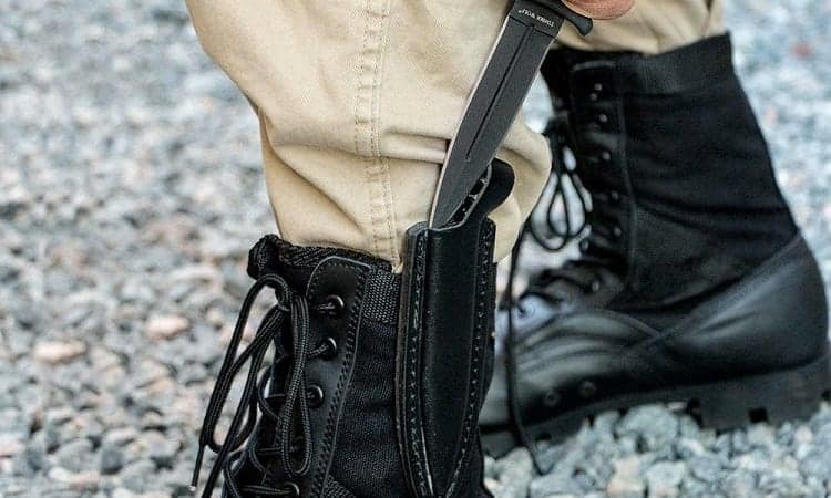 reasons for boot knife
