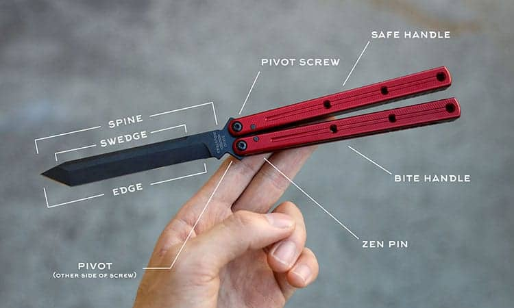 What is a butterfly knife