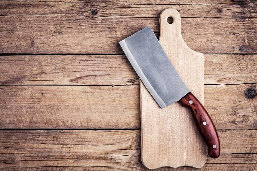 How To Use A Chinese Cleaver