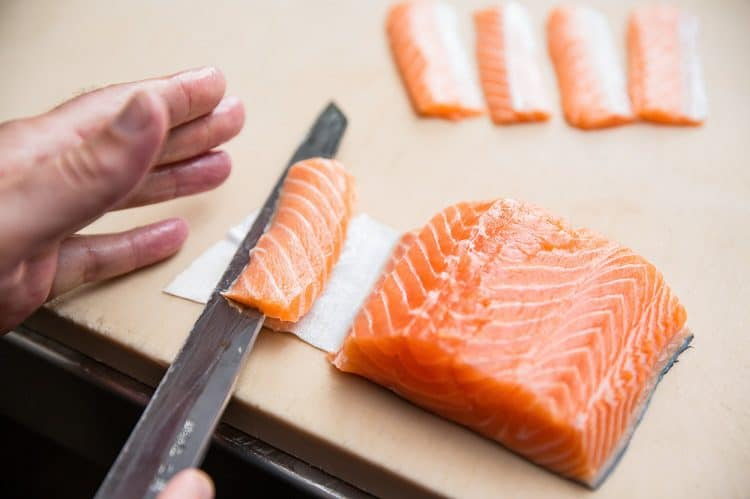 Best Way To Cut Sashimi