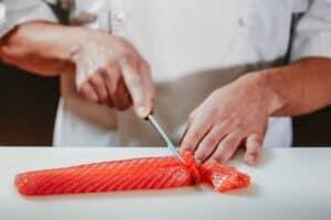 Chefs Advice On How To Cut Sashimi