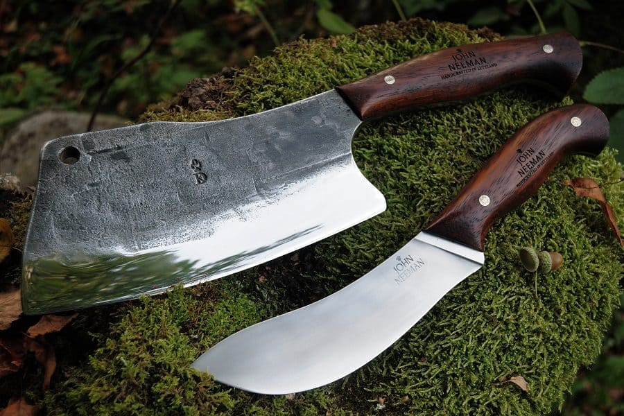 difference between a butcher knife and a cleaver